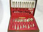 Vintage Community Plate Lady Hamilton 62 Pc Service for 12 Silverplate Flatware