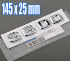 3D Number Trunk Rear Letter Emblem Decal Sticker for Mecedes Benz Maybach S600