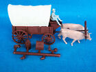 Marx reissue ox drawn western wagon from wagon train playset