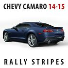 Chevrolet Camaro Rs Rally Racing Stripes Decal Kit Pre-cut 2014 - 2015