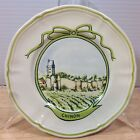 Longchamp Winery Appetizer Dessert Plate CHINON French Touraine Wine France