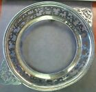 SILVER PLATED RETICULATED PIERCED SILVERPLATE CASSEROLE PIE DISH HOLDER