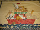 Country Noah Quilt Past & Present Daisy Kingdom Fabric Panel Vintage 1 ONLY