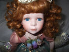 Geppeddo Fairy on the Moon porcelain doll and stand -Retired- Mariah