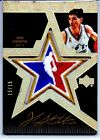 07-08 UD BLACK ALL STAR PATCH JOHN STOCKTON GOLD ON CARD AUTO 15 15