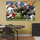 New York Giants New England Patriots Line Of Scrimmage Mural Fathead New In Box
