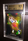 Lebron James Rookie 03-04 Pristine Gold Refractor 103 BGS 9.5