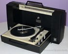 GE WILDCAT VINTAGE PORTABLE STEREO RECORD PLAYER TURNTABLE CHANGER MODEL V936