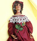 Heritage Signature Collection Porcelain Collector Doll - Rose - 20 inches tall