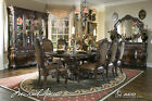 Essex Manor Luxury 11 pc Formal Dining Room Set w/ China Cabinet Michael Amini