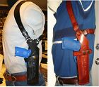 Gazelle Premium Vertical Leather Shoulder Holster For