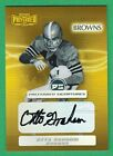 OTTO GRAHAM AUTO GOLD 2001 Playoff Preferred AUTOGRAPH (HOF) Browns 03 25
