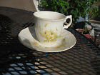 SPRING MEADOW MIKASA FINE IVORY CUP SAUCER 2pc D1007 JAPAN FLOWERS EXCELLENT