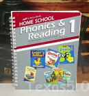 Abeka Home School Phonics  Reading 1 Curriculum Lesson Plans Book 1st Grade