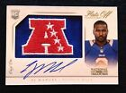 2013 Ej Manuel National Treasures Jumbo Logo Patch Auto Rc Ser#1 1 Hats Off