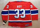 PATRICK ROY SIGNED AUTOGRAPH MONTREAL CANADIENS HABS #33 JERSEY w COA AVALANCHE
