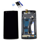 LCD Display + Touch Screen Digitizer + Frame Assembly For Oneplus One 1+ A0001