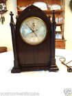 Antique Session's Westminster Chime Gothic Electric Clock Circa 1930!
