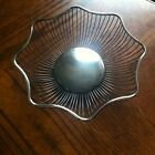 VTG Raimond Silver Plate Large Round Wired Bread Serving Bowl Basket ~ ITALY~