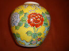 1945 Nippon/Noritake Hand Painted Ginger Jar/Vase OCCUPIED JAPAN