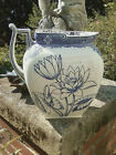 Antique Doulton Burslem pitcher and wash bowl