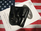 ETW Holsters Ruger LCR IWB w clip tuckable RH black leatherNEW