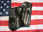 ETW Holsters Sig P238 IWB holster w clip tuckable RHLH black leather