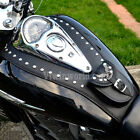 BS) HONDA VTX1300 S, R, C, CUSTOM & RETRO LEATHER TANK Panel Cover Pad Bra Bib