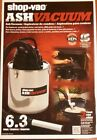Shop Vac Ash Vac designed for fireplaces, wood/pellet stoves & coal stoves