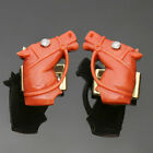 1960s Vintage Diamond Red Coral 18k Yellow Gold Horse Cufflinks