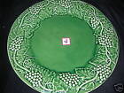 MAJOLICA BORDALLO~GREEN GRAPEVINE~LARGE PLATTER~NEW