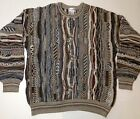 Mens Vintage Alfani Coogi Cosby Style Sweater Notorious Sz Large
