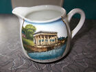 Q VINTAGE PORCELAIN CREAMER GERMANY~BUTTNER CO~PLYMOUTH ROCK & PORTICO~AMERICANA
