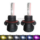 2x New Bi-xenon H13 9008 Hid Bulbs Ac 35w Hilo Hl Headlight 4k 6k 8k 10k 12k