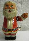 Vintage 1950's Wind-up 'Santa Claus' Tin Litho Toy by TN Nomura Japan - Works