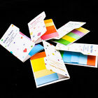 Cute Rainbow Sticker Maker Post it Notes Bookmark Memo Flags Sticky Index A0524