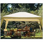 Canopy Tent for Party Outdoor Folding Gazebo 10 x 12 with Carry Bag Color Camel