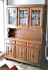 vintage rock maple china hutch (two piece) Cabinets & Cupboards,  Post-1950