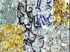 1000 pcs A+ glass rhinestone rondelle spacer beads various colors and sizes
