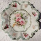 VINTAGE 1950's EMPIRE CHINA HAND PAINTED CERAMIC BOWL - #924 - MADE IN JAPAN
