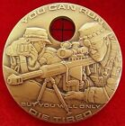 U.S. MADE ARMY SNIPER CHALLENGE COIN SPECIAL FORCES LAW ENFORCEMENT MEDAL