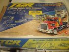 Vintage 1977 Ideal TCR Race Track Lot Glow Charger Guns + No Cars