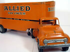Original 1955 TONKA TOYS Private Label Allied Van Lines SEMI TRUCK TRAILER Old