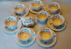 Crown Potteries Co cups/ saucers/ creame,  U.S.A.,    8 cups, 7 saucers, creamer