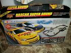 TYCO NASCAR SUPER SOUND  RACE SET  NO CARS ABLE TO USE OTHER  SLOT CARS