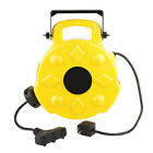 Bayco 50-ft 3-Outlet Plastic Retractable Cord Reel FL-8903N2..BRAND NEW!!