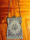 Vintage Mandalian Mesh Purse Bag Handbag Flapper Bag circa 1920's