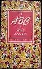The ABC of Wine Cookery Peter Pauper Press Vintage 1957 Hardcover