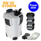 Goplus 200 GAL External Aquarium 5-Stage Canister Filter UV Sterilizer HW-304B