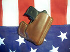 Leather Pocket Holster for Ruger LC9 w CT or LC9 with lasermax LC380wCT or Max